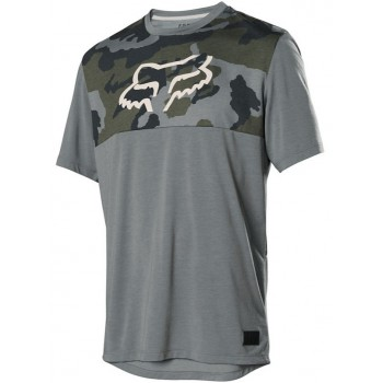 FOX FX RANGER DRIRELEASE SS GREEN CAMO T-SHIRT