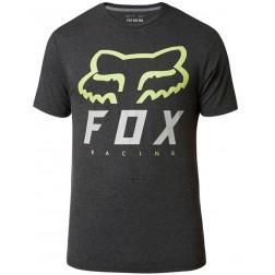 FOX HERITAGE FORGER SS TECH BLACK GREEN T-SHIRT