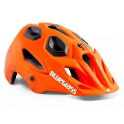 BLUEGRASS GOLDEN EYES ARANCIONE TEXTURE OPACO CASCO BICI