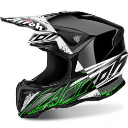 AIROH TWIST SPOT GLOSS CASCO CROSS