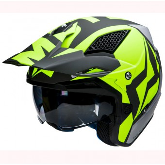 MOTS UP 1 YELLOW FLUO CASCO TRIAL