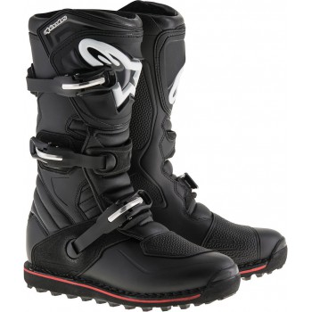 ALPINESTARS TECH T BLACK RED STIVALE TRIAL