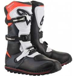 ALPINESTARS TECH T BLACK RED BLUE FLUO STIVALE TRIAL