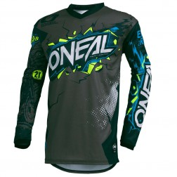 O'NEAL ELEMENT YOUTH VILLAIN GRAY MAGLIA CROSS JUNIOR