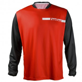HEBO TRIAL TECH RED BLACK MAGLIA TRIAL