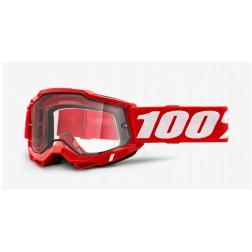 100% THE ACCURI 2 ENDURO RED MASCHERA