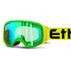 ETHEN  GP06 GREEN/YELLOW MASCHERA