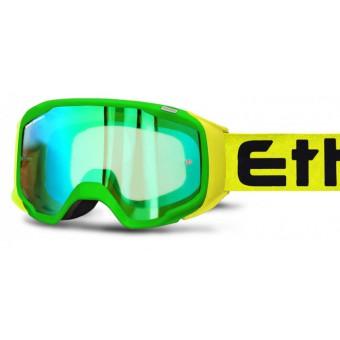 ETHEN  GP06 GREEN/YELLOW MASCHERA