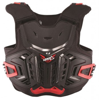 LEATT CHEST PROTECTOR 4.5 JUNIOR BLACK SCHIENA/PETTO