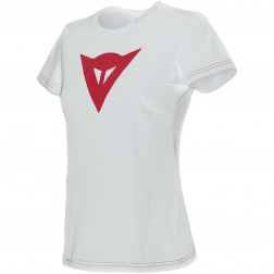 DAINESE T-SHIRT SPEED DEMON LADY WHITE/RED