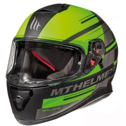 MT   THUNDER 3 SV PITLINE MATT FLUOR GREEN CASCO INTEGRALE
