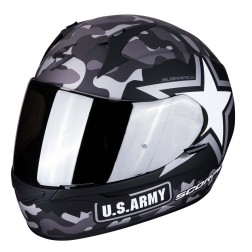 SCORPION  EXO 390 ARMY GREY CASCO INTEGRALE