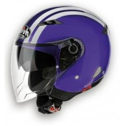 AIROH CITY ONE FLASH VIOLET GLOSS CASCO JET