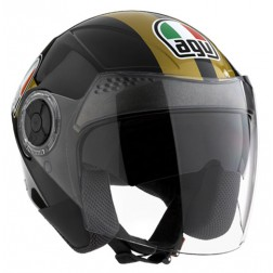 AGV JET NEW CITYLIGHT BLACK/GOLD
