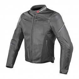 DAINESE CAGE NERO GIACCA PELLE