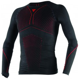 DAINESE D-CORE THERMO TEE LS BLACK RED INTIMO MAGLIA